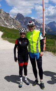 Mit Maria Canins auf dem Passo Giau