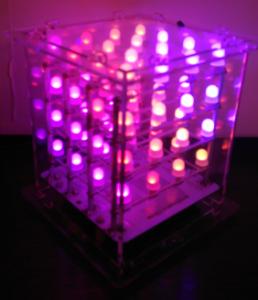 LED Würfel Bild 1