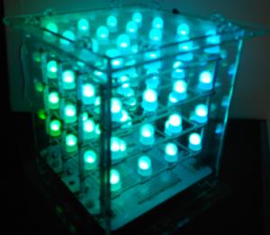 LED Würfel Bild 2